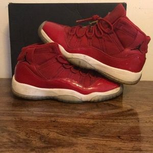 I am selling red and white Jordans